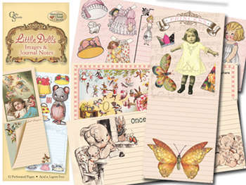 Little Dolls Image & Journal Notes Booklet picture