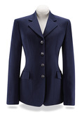 Navy Palm Soft Shell Coat-D8331P