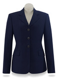 Navy Diana Soft Shell Coat-D8331W