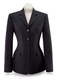 Black Diana Show Coat-D8117W