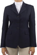 Ladies R.J. Collection - Washable Navy Herringbone