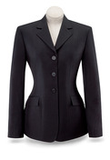 Black Diana Show Coat-D8117W