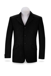 Black National Show Coat-N8117