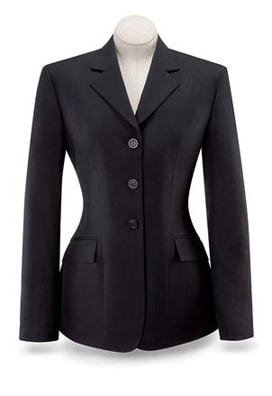 Black Diana Show Coat-D8117W picture