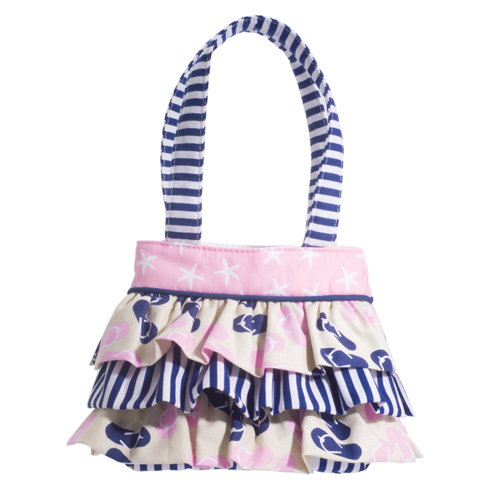 Douglas Toys - NAUTICAL RUFFLE BAG