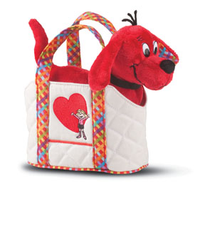 Douglas Toys - Clifford Fun FashionTote w/Dog
