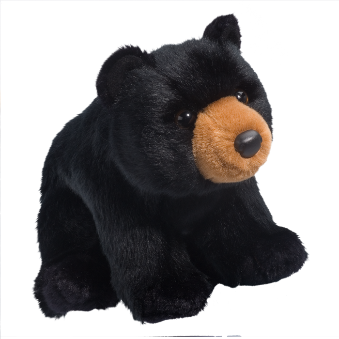 Douglas Toys - Almond Black Bear