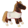 DIDO CHESTNUT HORSE W/CRM BLANKET