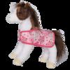 DAPHNE BRN/WHT PINTO HORSE W/PK BLANKET