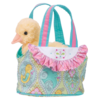 AQUA BIRD-TOTE  W/DUCK