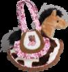 KICKY BOOTS SAK W/HORSE