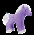 CRYSTAL PURPLE SPARKLE HORSE