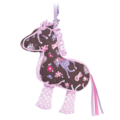 Pink Filly Sillo-ette
