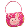 Dotty PINK PIG TOTE