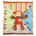 MONKEY ACTIVITY BLANKET