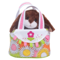Spring Tote with Chocolate Bunny