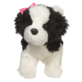 POOFY SHIH-TZU BLK & WH