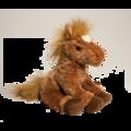 SPICE CHESTNUT HORSE (SITTING)*