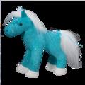 Marina Aqua Sparkle Horse