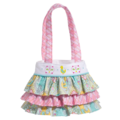 AQUA BIRD-RUFFLE BAG