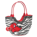 CLIFFORD ZEBRA TOTE