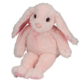 Laurel Small Floppy Pink Bunny