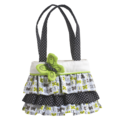 Fresh Lime Ruffle Tote