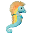 Turquoise & Yellow Sea Horse