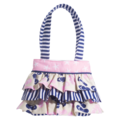 NAUTICAL  RUFFLE BAG