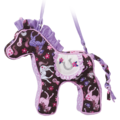 Pink Frilly Horse Sillo Bag