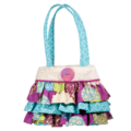 PEACEFUL EARTH RUFFLE TOTE