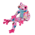 Reagan Pink Butterfly Frog Fuzzle