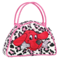 CLIFFORD PINK LEOPARD SATCHEL