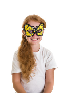 Yellow Butterfly Mask picture