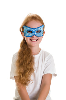 Mask, Fairy, Blue picture