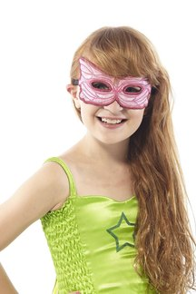 FANTASY PINK FAIRY MASK picture