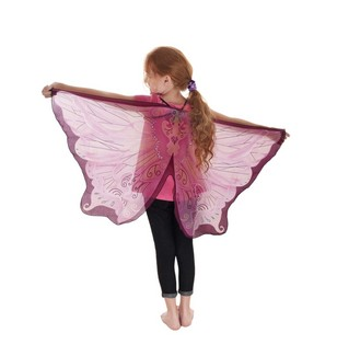 Fairy Wings, Pink w/Glitter picture