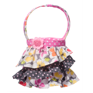 Pink Beauty Ruffle Tote picture