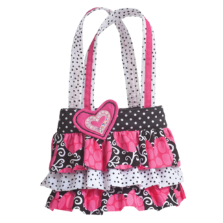 Hot Jazz Ruffle Tote picture