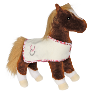 DIDO CHESTNUT HORSE W/CRM BLANKET picture