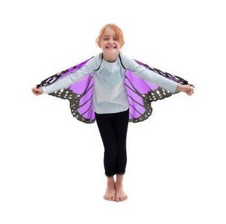 Monarch Wings w/Glitter, Purple picture
