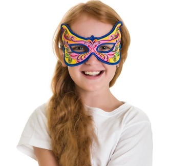 FANTASY RAINBOW FAIRY MASK picture