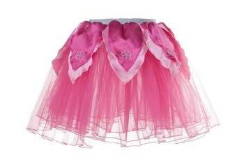 Skirt XS, Hot Pink Tutu w/Light Pink Petals picture
