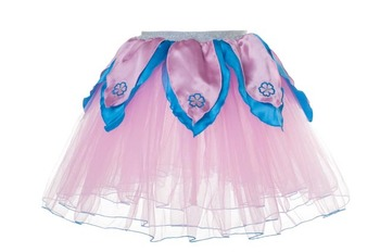 LIGHT PINK TuTu / Aqua Blue Petals - S picture