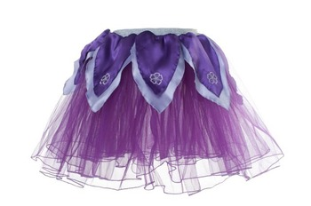 Skirt XS, Dark Purple Tutu w/Light Purple Petals picture