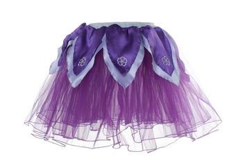 Skirt M, Dark Purple Tutu w/Light Purple Petals picture