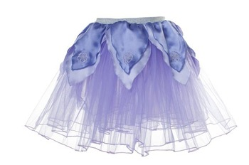 Skirt XS, Light Purple Tutu w/Dark Purple Petals picture