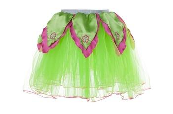 BRIGHT GREEN TuTu / Hot Pink Petals - S picture