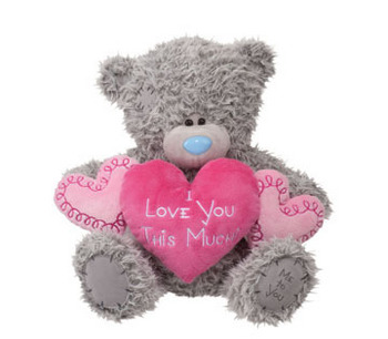 Large Tatty Teddy Love-Hearts picture