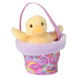 Paisley Basket with Duck picture